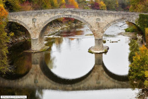 Römerbrücke über Töss