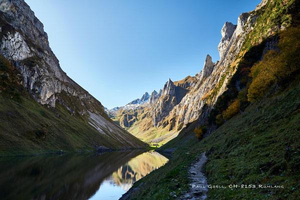 Herbstwanderung dem Fählensee entlang