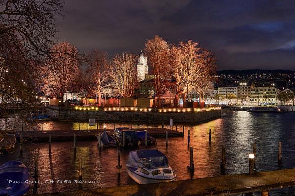 Zürich Bauschänzli zur Weihnachtszeit - #2144