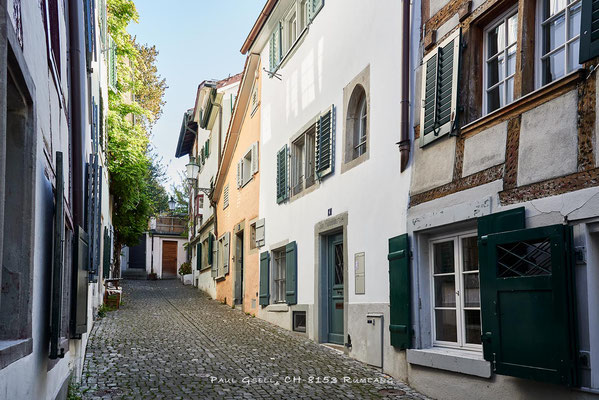 Zürich Altstadt Schlossergasse - #2086