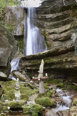 Hanggiessen Wasserfall im Erlenbacher Tobel