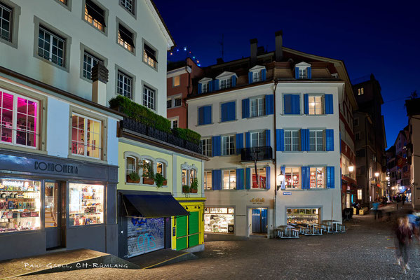 Zürich - Niederdorf bei Nacht - #100512