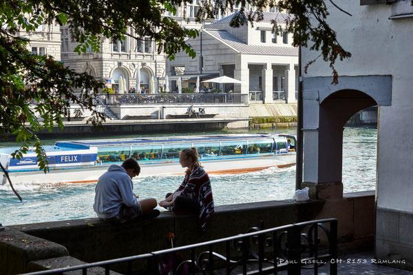 Zweisamkeit an der Limmat in Zürich - #3833