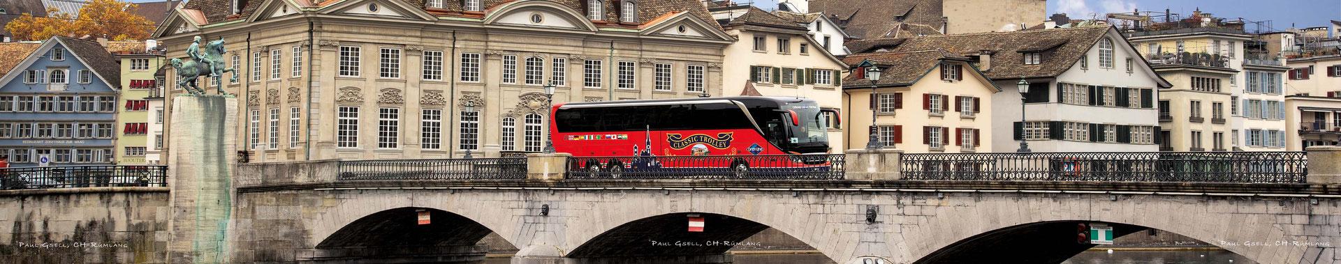 Dieses überproportionale Foto ist in der Tourist Information im Hauptbahnhof Zürich im Grossformat zu sehen.