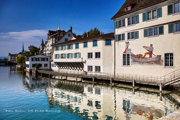 Zürich - Schipfe Heiristeg