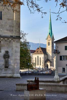 Zürich - Blick auf Fraumünster
