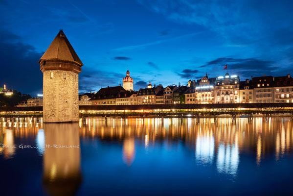Luzern - Wasserturm Kappelbrücke