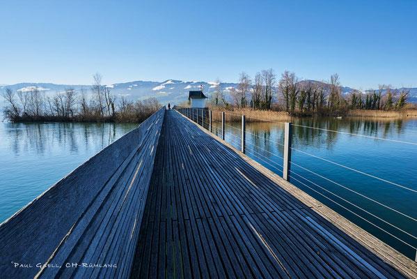 Holzsteg Rapperswil - Hurden
