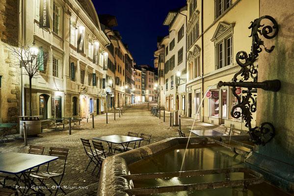 Zürich Neumarkt bei Nacht - #0436