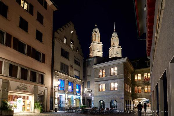 Zürich - Rüdenplatz bei Nacht - #3336