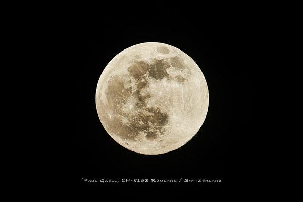 Vollmond - Full moon - April 26, 2021 - #1837