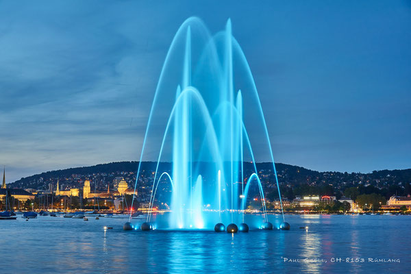 Springbrunnen Aquaretum in Zürich - #1829