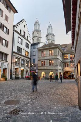 Zürich - Rüdenplatz - #8866