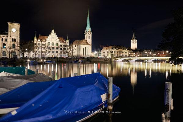 Zürich - Blick Richtung Stadthausquai - #6457