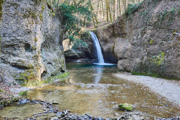 Tobelbach - Wasserfall (Giessen 2)