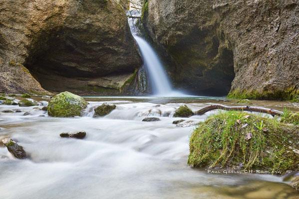 Tobelbach - Bläsimühle Wasserfall