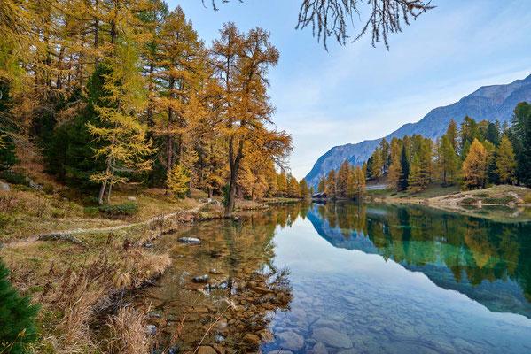 Palpuognasee im Herbst