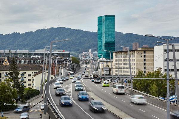 Zürich - Hardbrücke, Strassenverkehr - #3384