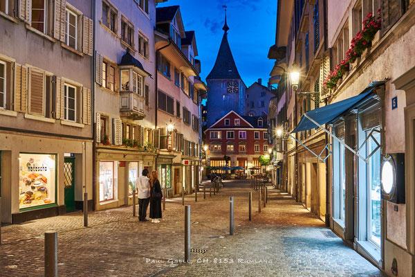 Zürich Neumarkt bei Nacht - #2114