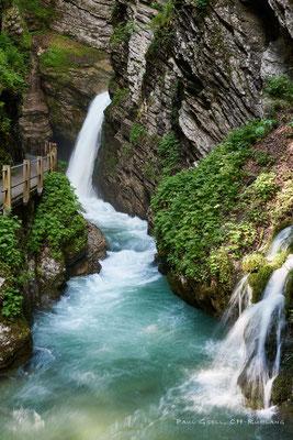 Säntisthur mit Thurwasserfall