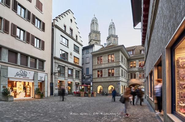 Zürich - Altstadt Rüdenplatz - #8854