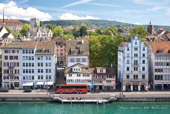 Hans Meier Zurich City Tours - Zürich Limmatquai