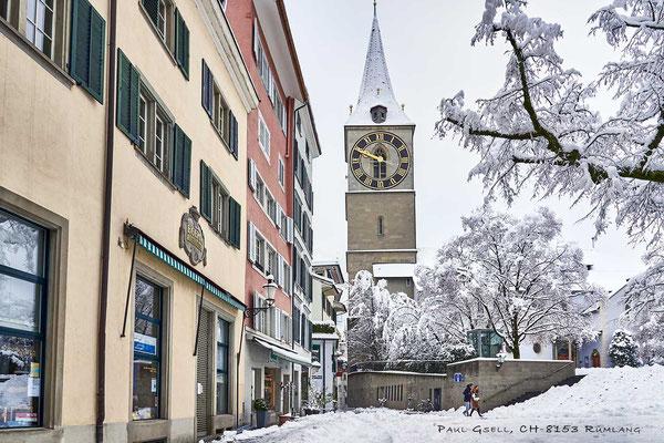 St. Peterhofstatt mit Kirche St. Peter - #2208