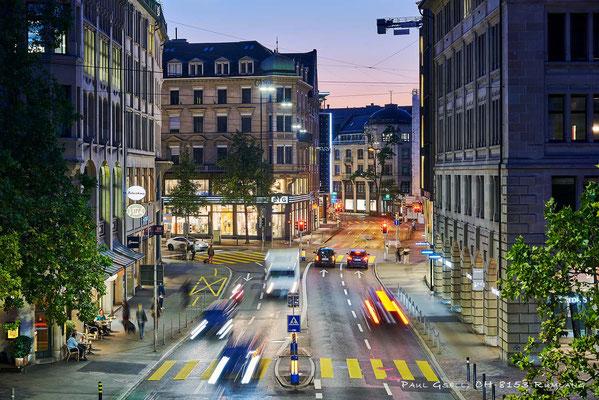Zürich Uraniastrasse Kreuzung Bahnhofstrasse - #3019