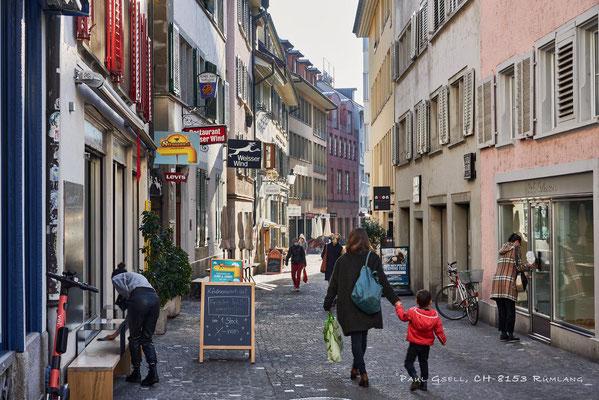 Zürich Altstadt Oberdorfstrasse - #2074