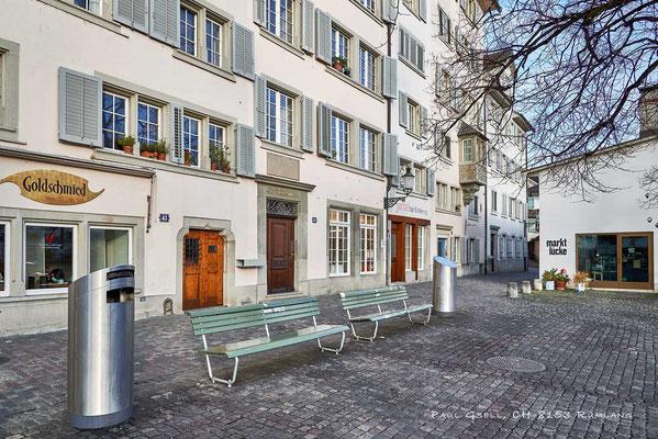 Zürich Schipfe an der Limmat - #2037