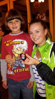 Valerie mit ihrem kleinen grössten Fan :-)
