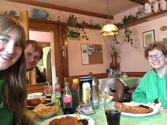 Das obligate Schnitzel in Innsbruck