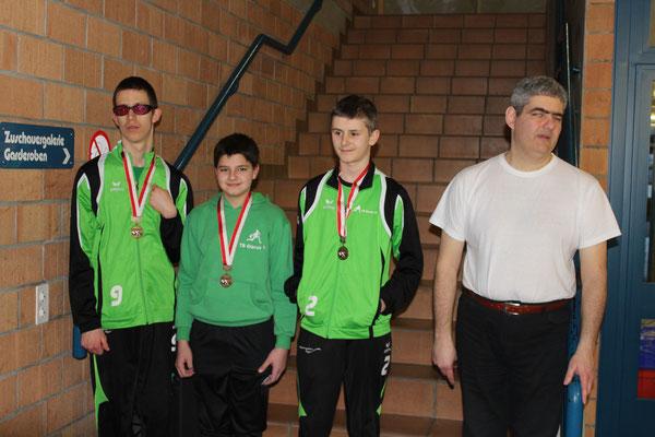 Unser Jugendteam Wiggis holt sich Bronze