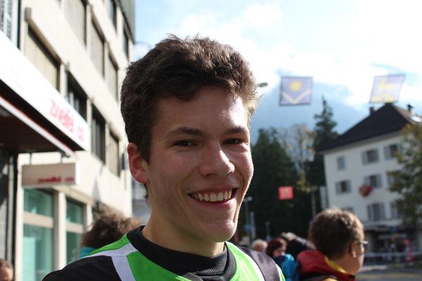 Joël als Dritter im Ziel!
