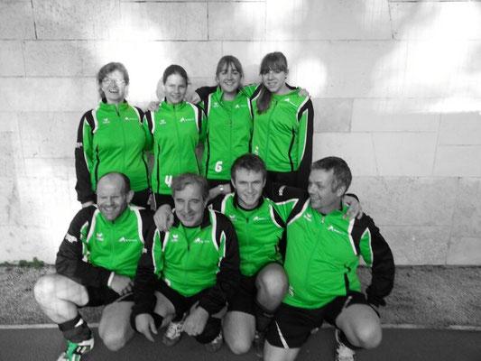 Das Damen-, sowie das Herrenteam