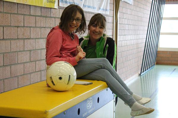 Andrina und Schiri Ramona