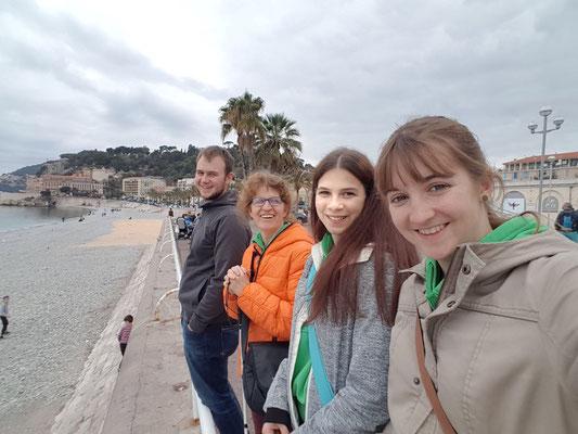 Selfie am Meer