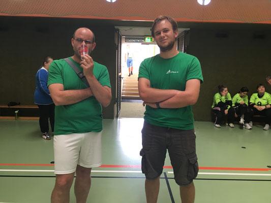 Unsere beiden Coaches