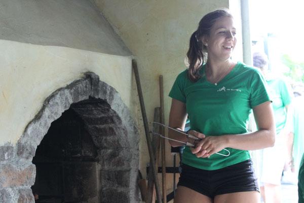 Larissa die Grilleurin