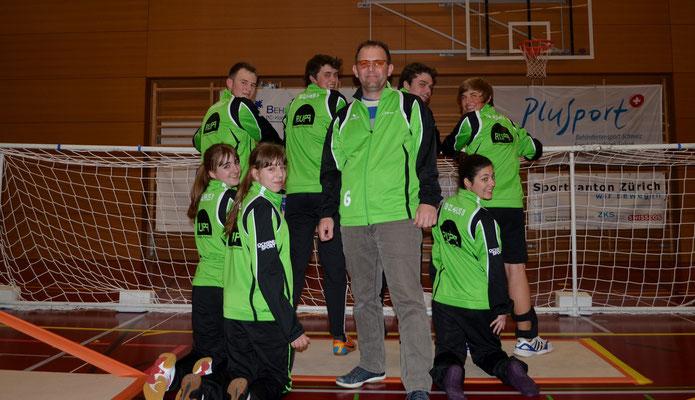 Das U20-Team mit unserem Sponsoren