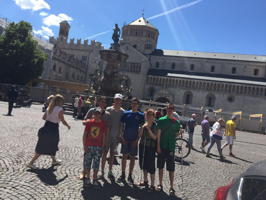 Sightseeing in Trento