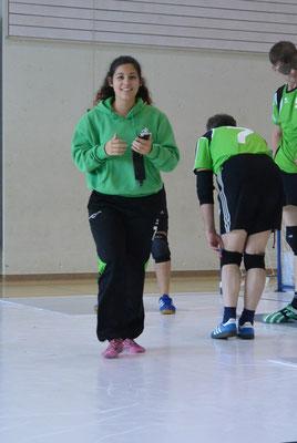 Coach zum Ersten..