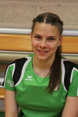 Unsere Mittelspielerin Dana