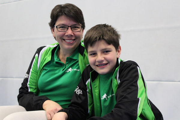 Coaches Ruth und Miro