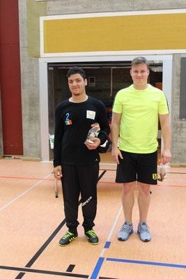 Die beiden Sieger des Highspeed-Wettbewerbs