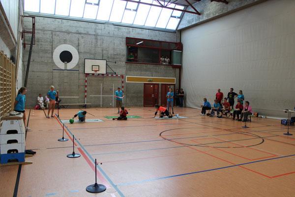 Das Team Lendenmann am Einsatz am Challenge-Cup