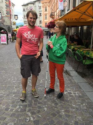 Sonntags in der Innsbrucker Altstadt