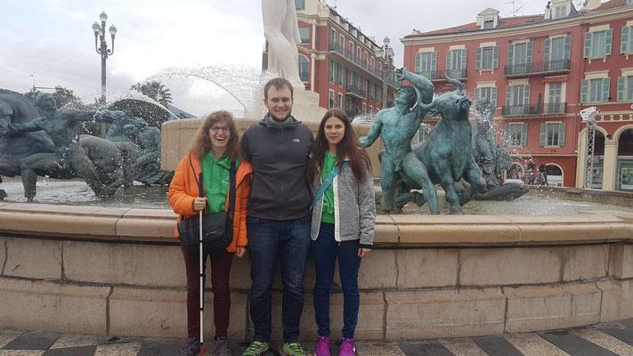 Lilian, Jonas und Dana