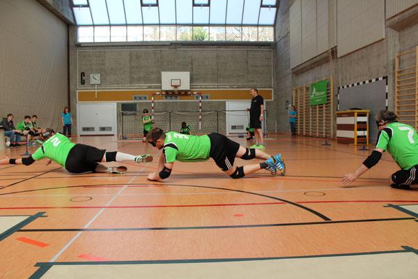TB Glarus 11 Kärpf in der Abwehr