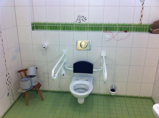 Behindertengerechtes Kinder WC